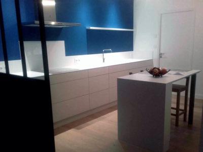 Cuisine ilot et plan de travail BLANCO ZEUS NANTES 44 - BRETHOME SARL Lucs sur Boulogne Vendée
