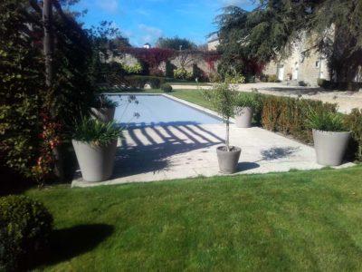 Dallage et margelles Piscine PALLUAU Vendee - BRETHOME SARL Lucs sur Boulogne Vendée