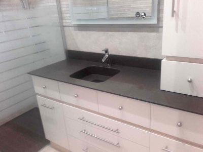 Plan vasque salle de bain QUARTZ INTEGRITY L ILE D'OLONNE 85 - BRETHOME SARL Lucs sur Boulogne Vendée