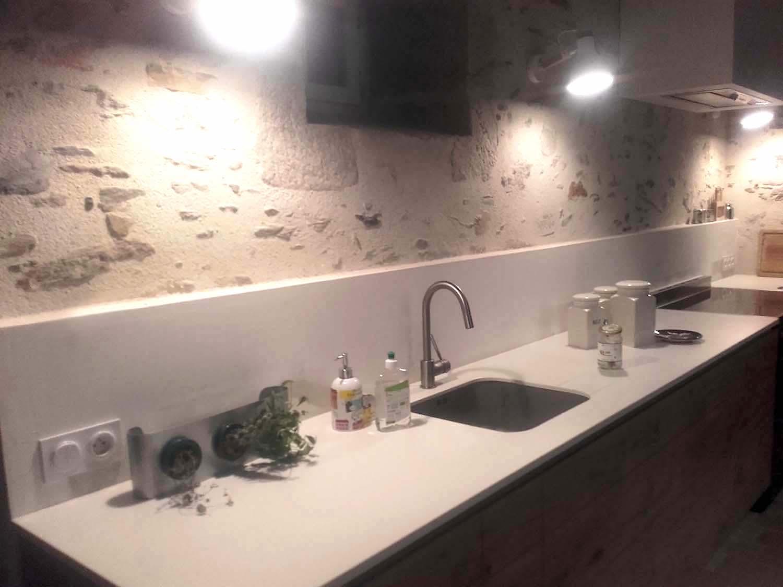 Plan cuisine DEKTON ZENITH LES LUCS SUR BOULOGNE 85 - BRETHOME SARL Lucs sur Boulogne Vendée