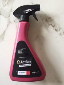 Q-Action nettoyage entretien plan travail quartz