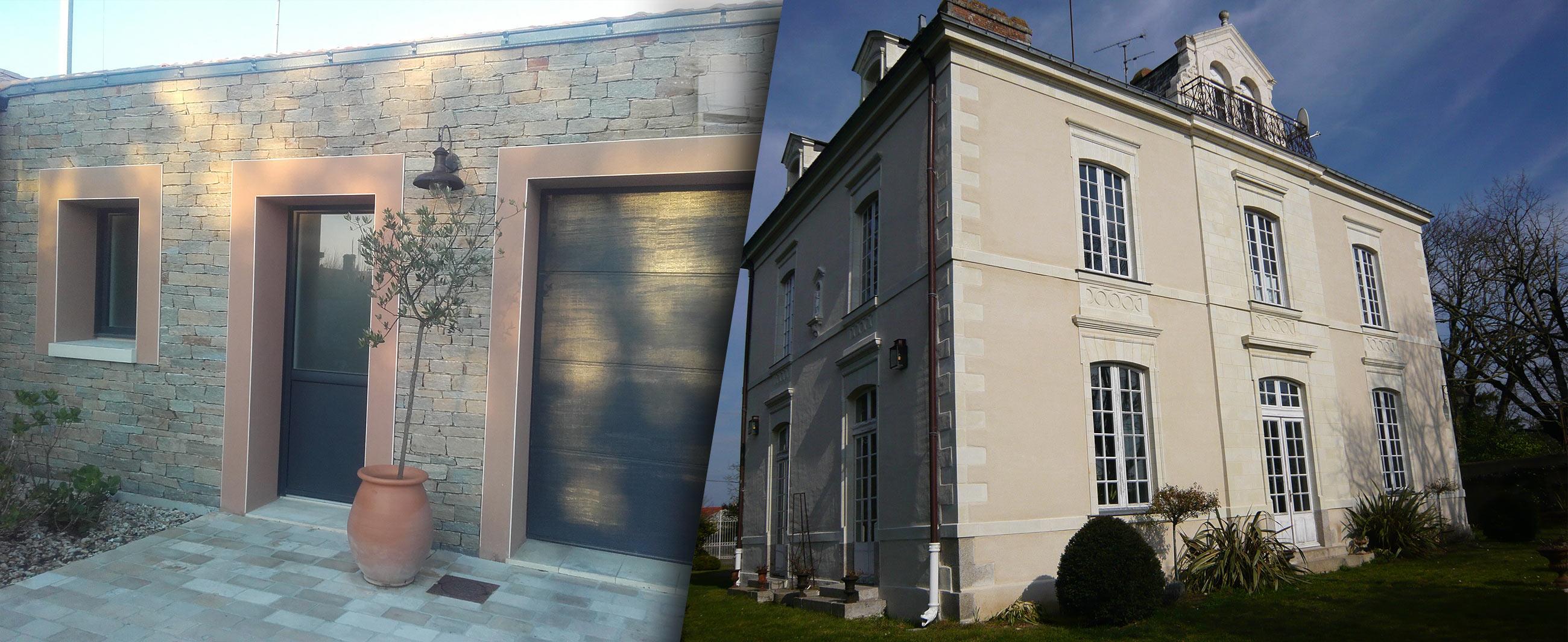 Taille de pierre bâtiment - BRETHOME SARL Lucs sur Boulogne Vendée